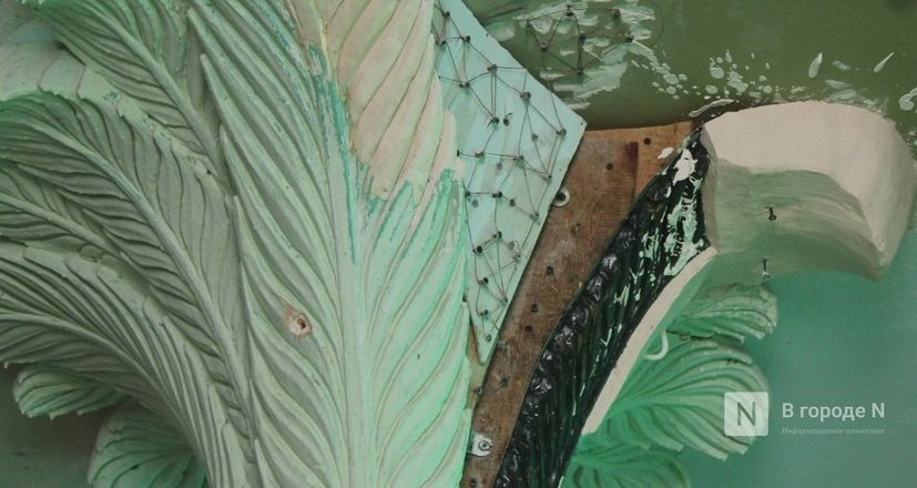 Реставрация исторической лепнины началась в нижегородском Дворце творчества - фото 34