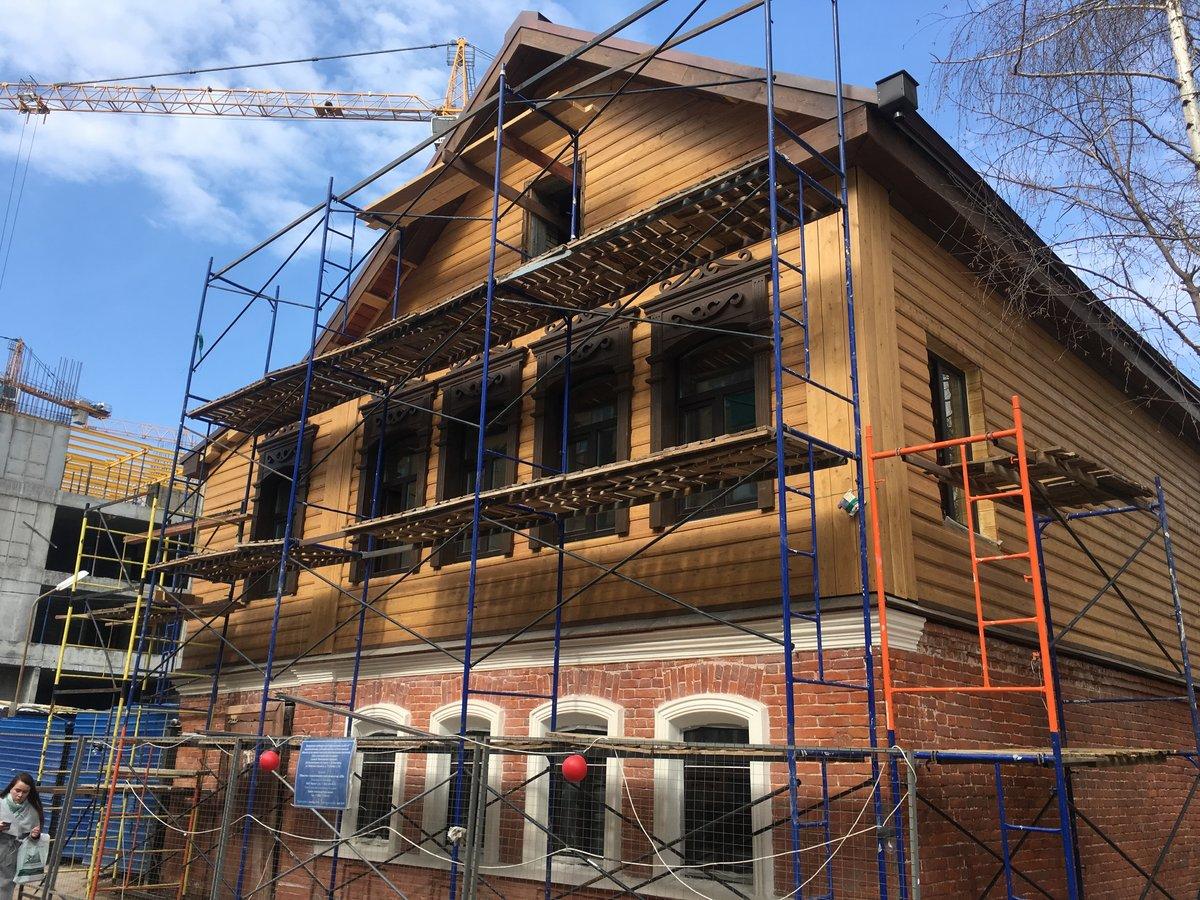 Фасад дома, где начинал жить «в людях» Максим Горький, отреставрирован на 80% - фото 1