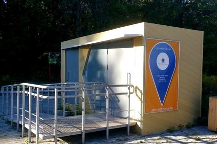 Туалет на Щелоковском хуторе в Нижнем Новгороде заработает к лету