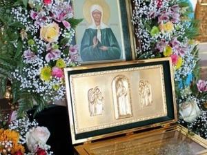 В Дивеево прибыли мощи святой Матроны Московской
