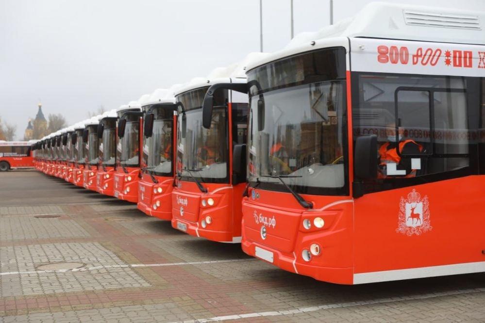 Еще 14 автобусов на газомоторном топливе поступило в Нижний Новгород - фото 1