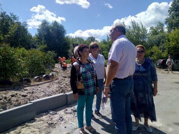 Участок дороги в Канавинском районе начали ремонтировать по просьбам жителей - фото 2