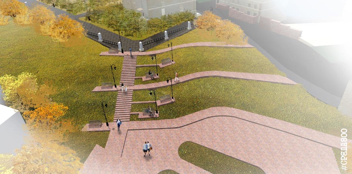 Новый пешеходный маршрут пройдет по Почаинскому бульвару - фото 3