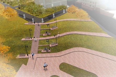 Итоговый вариант развития Почаинского бульвара представят нижегородцам
