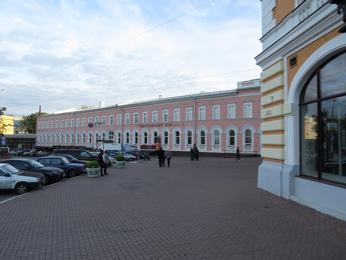 Нижегородский «Гефест» реконструирует Выставочный комплекс на площади Минина и Пожарского - фото 1