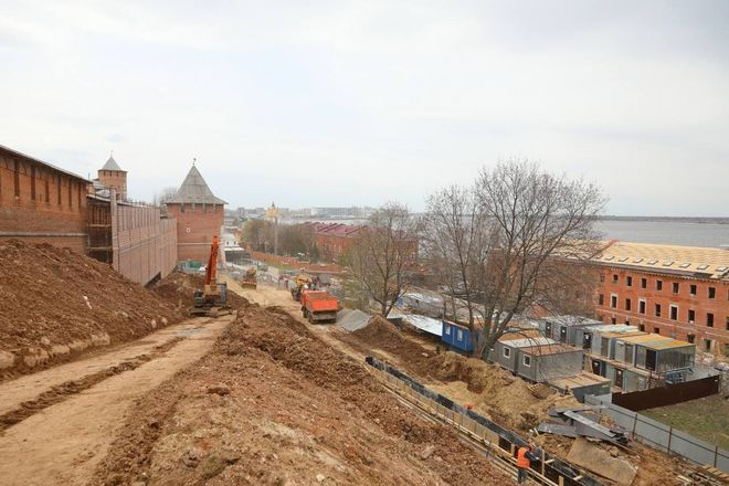 Реставрация Нижегородского кремля завершится к августу 2021 года - фото 2