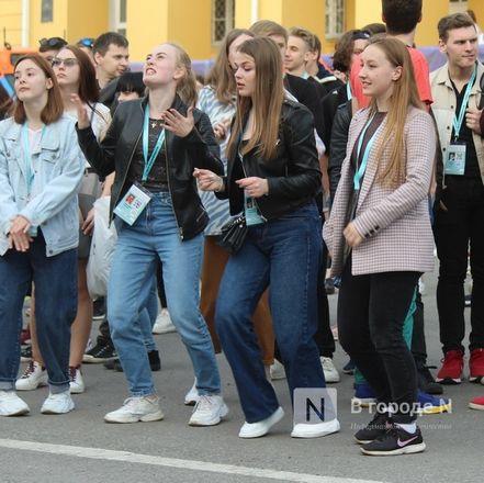 Молодость, дружба, творчество: как прошло открытие «Студенческой весны» в Нижнем Новгороде - фото 71