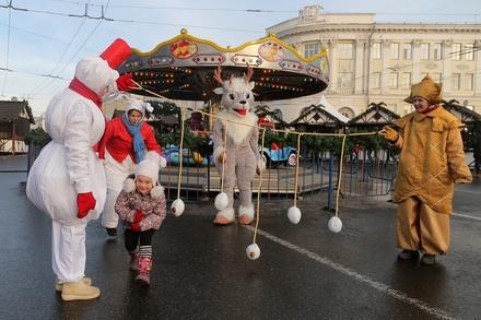 Массовые гуляния на фестивале «Горьковская Елка 2020» начнутся с 28 декабря