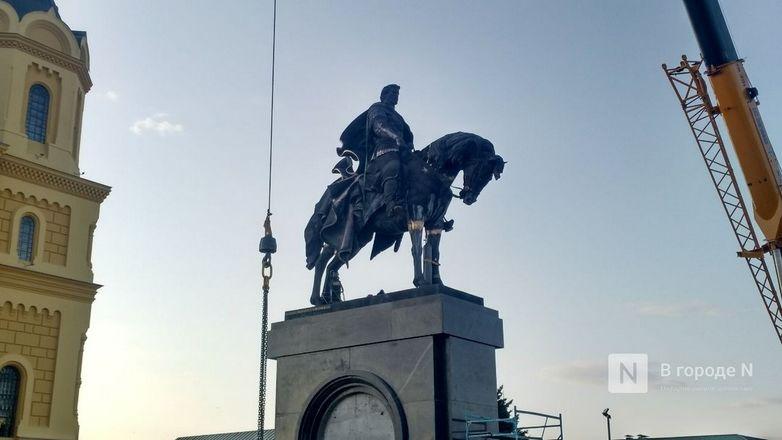 Памятник Александру Невскому установили на Стрелке - фото 1