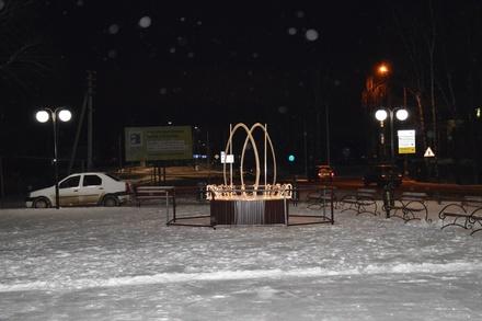 Световой фонтан и игровые площадки за 6,5 миллионов рублей построили в Дивееве