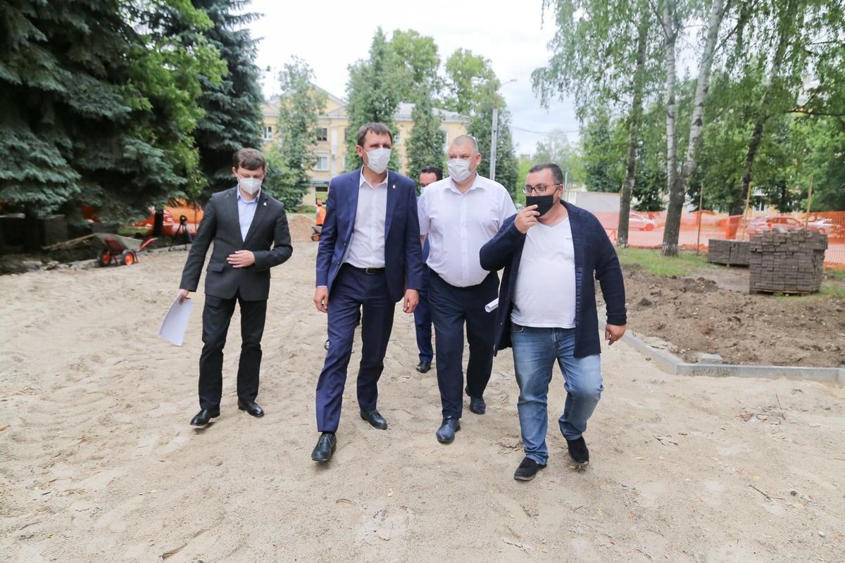 31 территорию благоустроят по программе ФКГС в Нижнем Новгороде в 2021 году - фото 1