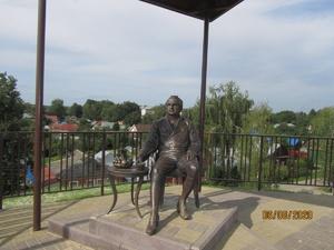 Смотровая площадка и скульптура Шереметева появились в Богородске