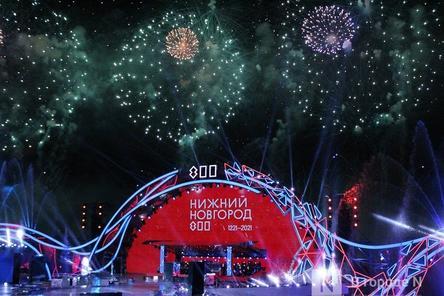 Грандиозное гала-шоу состоялось в день 800-летия Нижнего Новгорода