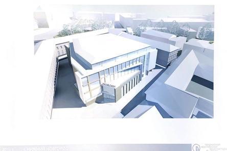 Опубликован проект торгового центра на месте Мытного рынка