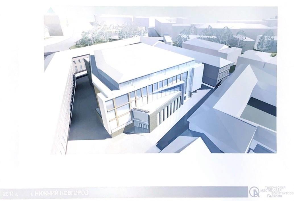 Опубликован проект торгового центра на месте Мытного рынка - фото 1