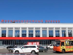 Выделенная полоса для автобусов появилась в Нижнем Новгороде около вокзала