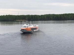 Судно на подводных крыльях «Валдай 45Р» совершило первый в этом году рейс в Городец