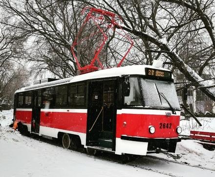 Модернизированный трамвай «Татра Т-3» вышел на нижегородские маршруты