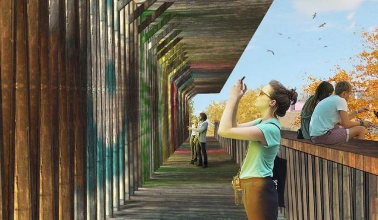 Теневой навес вместо игрового тоннеля появятся на Почаинском бульваре - фото 2