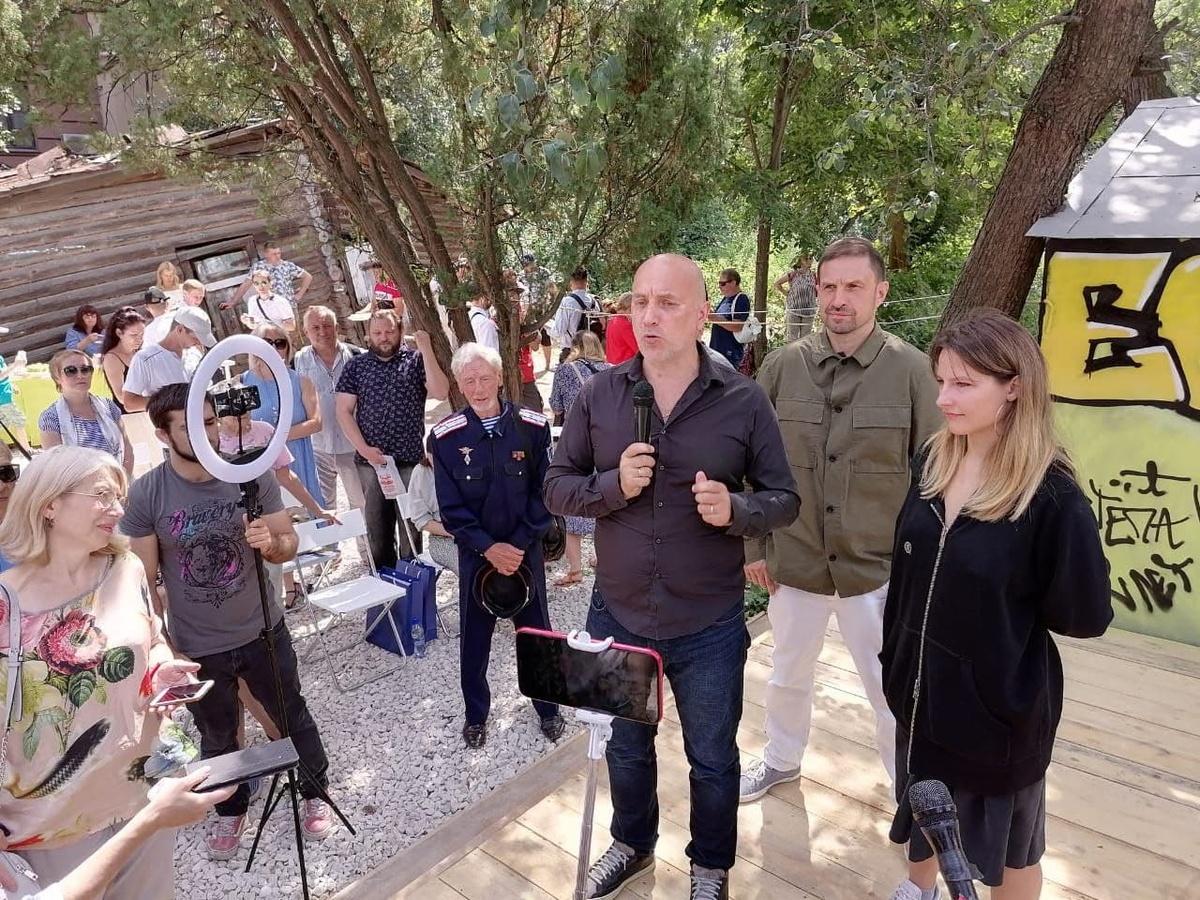 Прилепин открыл дирекцию туристического маршрута «Москва-Рязань-Выкса-Муром»Есенин-Центр - фото 1