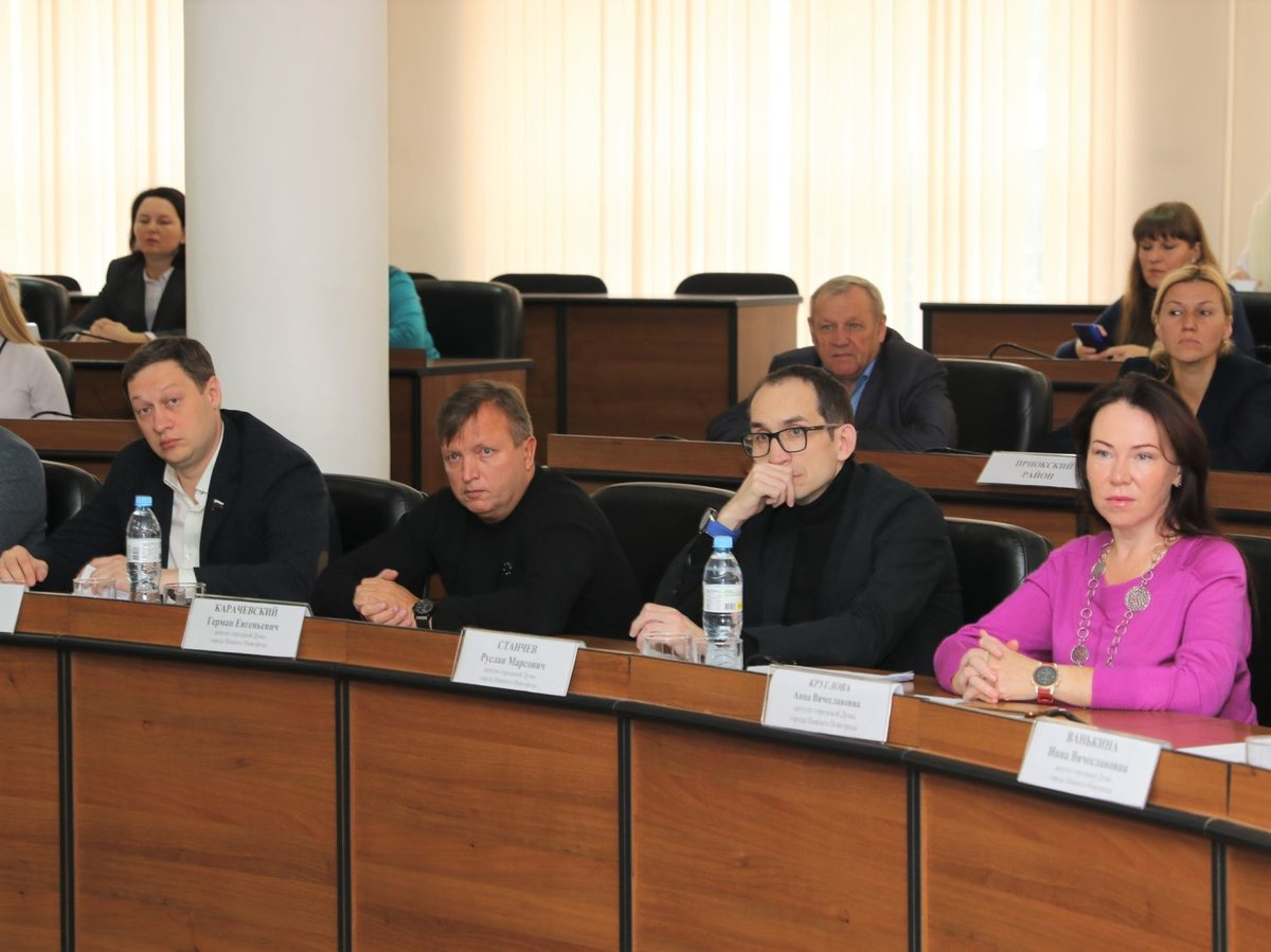 Нижегородским ТОСам предложено присвоить статус юрлица - фото 1