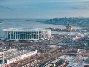 Пластик вместо стекла: нижегородцы обсуждают измененный проект стадиона на Стрелке