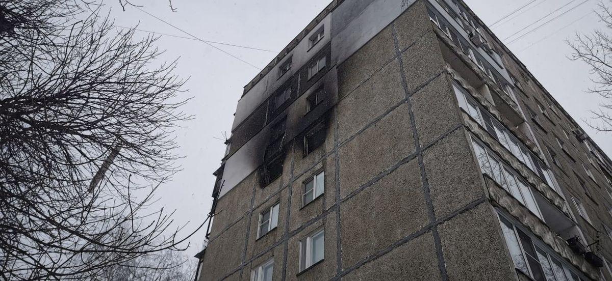 Газ и свет дали почти во все квартиры пострадавшего от взрыва газа дома на улице Березовской - фото 1