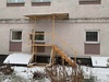 Сотрудникам больницы Нижнего Новгорода организовали вход через окно