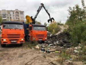Ликвидация незаконных свалок началась в Нижегородском районе
