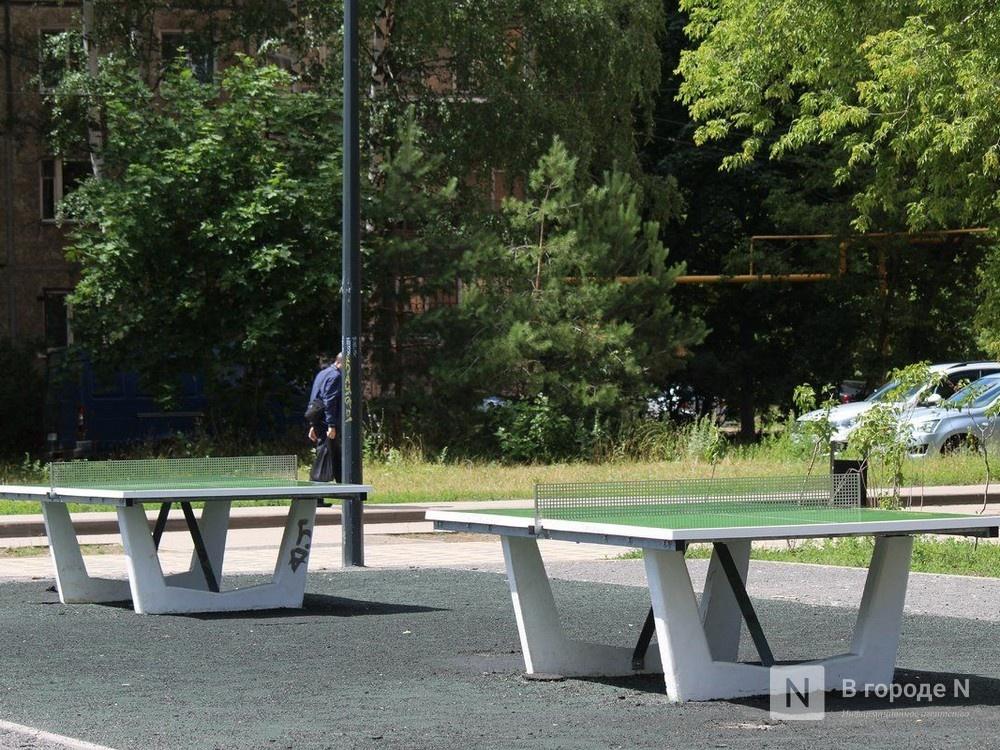 Вандалы вырвали теннисные столы и скамейки в сквере Прыгунова - фото 1