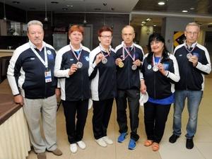 Нижегородские пенсионеры победили на Всероссийской спартакиаде
