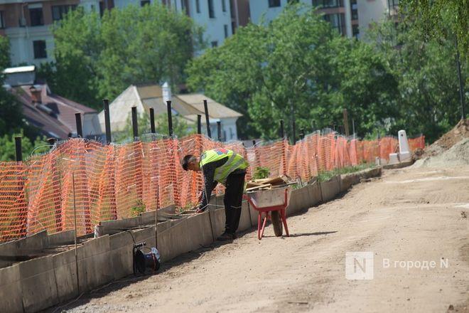 Благоустройство Кремлевского бульвара в Нижнем Новгороде  завершится 30 июля - фото 43
