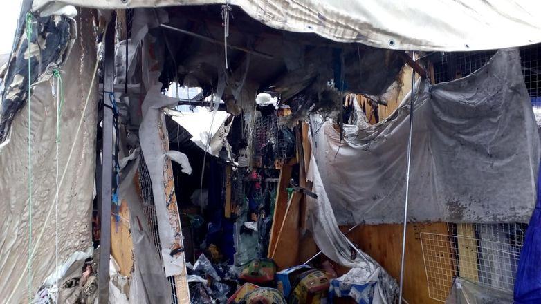 ГУ МЧС по региону показало, как выглядит Канавинский рынок после пожара - фото 3