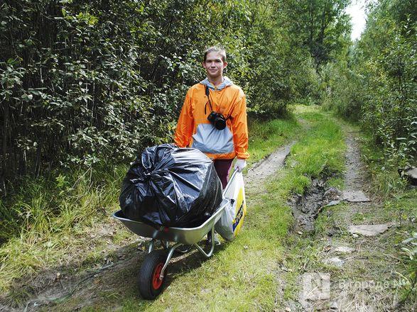 Волонтеры очистили берега Пермяковского озера в рамках акции компании En+ Group - фото 7