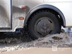 Из-за сильных дождей затоплена дорога в Уренском районе