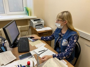 50 волонтеров ежедневно помогают работникам поликлиник Нижегородской области