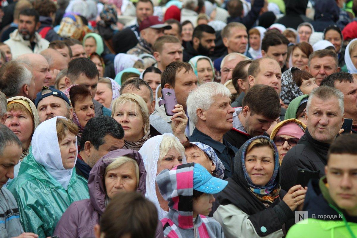 Патриарх Кирилл возглавил божественную литургию в Дивееве  - фото 3