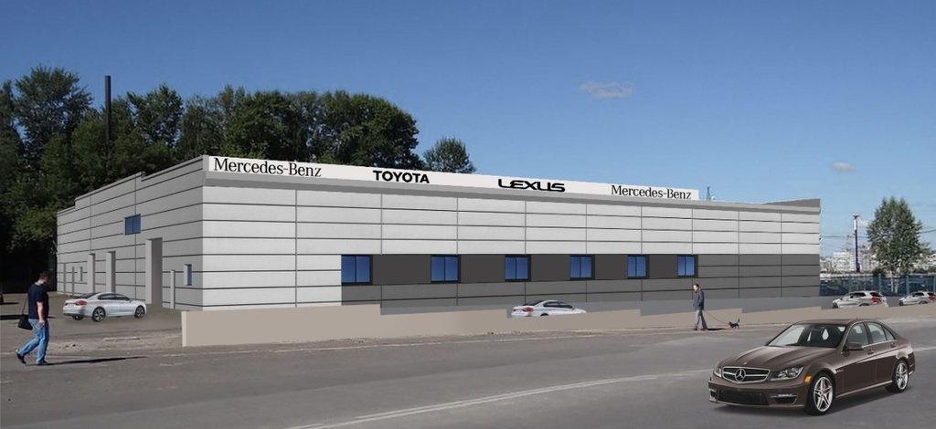 Торгово-складское здание выставлено на продажу около ТРЦ «Фантастика» - фото 1