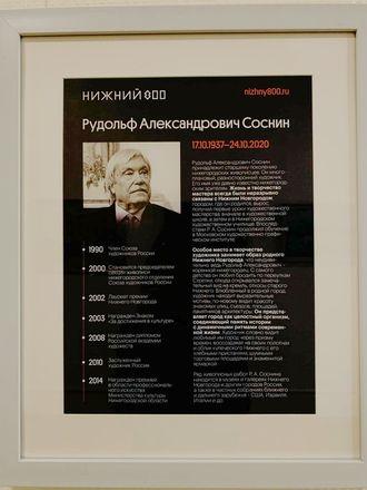 Выставка художника Рудольфа Соснина открылась в Законодательном собрании Нижегородской области - фото 2