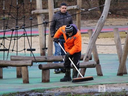 Детскую площадку в нижегородском парке «Дубки» расширят