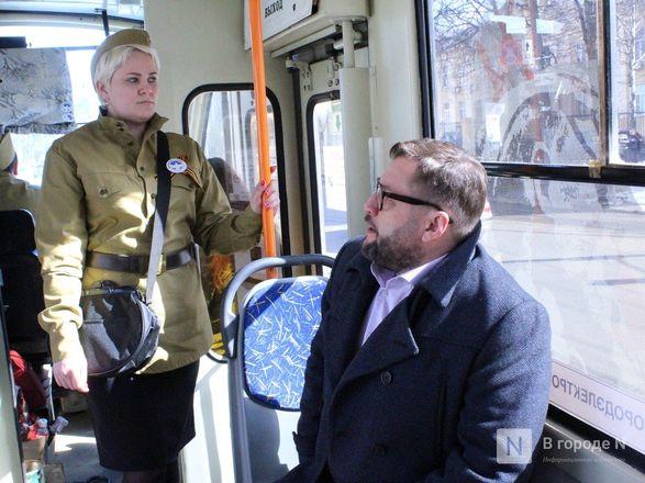 «Трамвай Победы» начал ходить по Нижнему Новгороду - фото 30