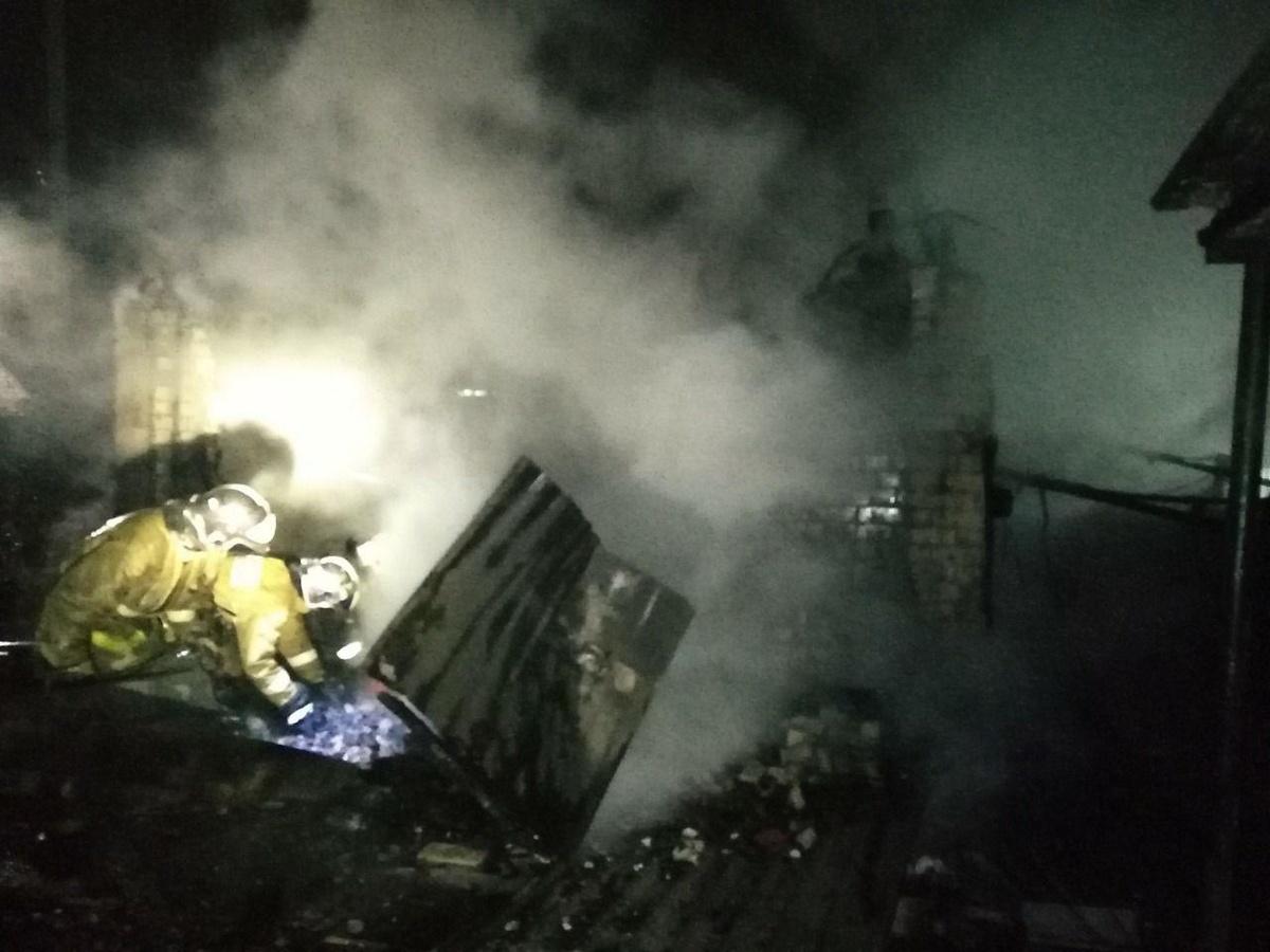 Мужчина погиб в пожаре в Кстовском районе - фото 2