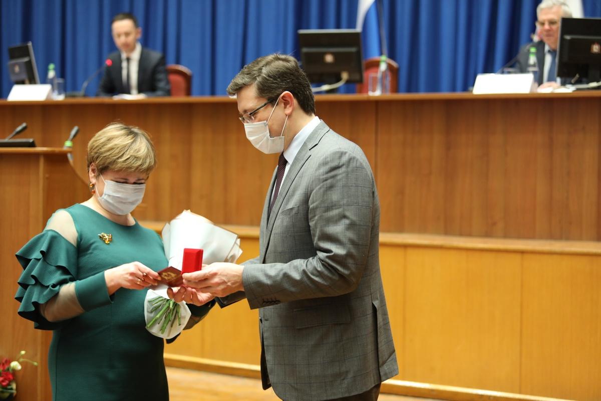 15 нижегородских врачей получили заслуженные награды - фото 1