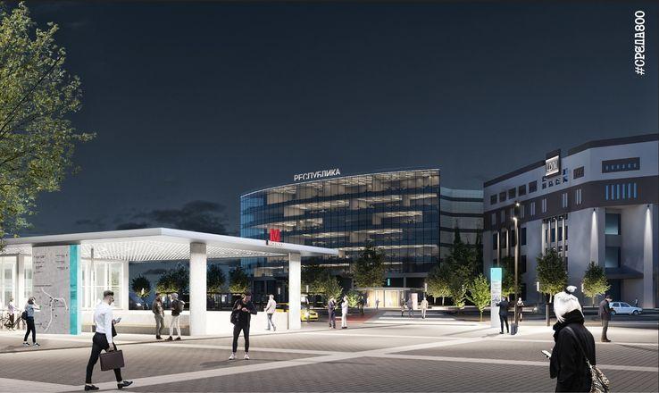 Концепцию благоустройства площади перед железнодорожным вокзалом представили нижегородцам - фото 2