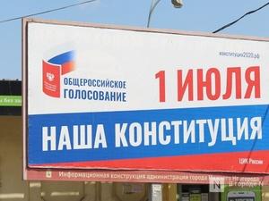Голосование по поправкам в Конституцию организовали в нижегородских дворах