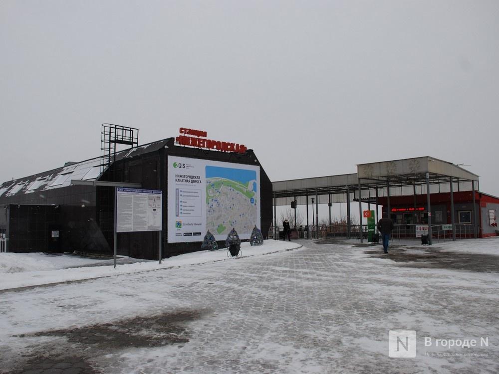 Деревянные павильоны и скульптуру предложено установить около нижегородской станции канатной дороги - фото 2