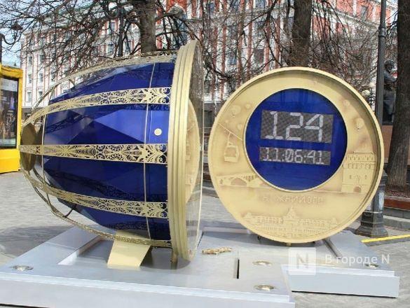 Часы обратного отсчета до 800-летия появились в Нижнем Новгороде - фото 3