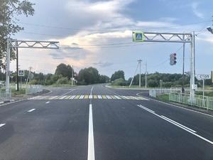 Ремонт дороги Шопша – Иваново – Нижний Новгород завершился 26 августа