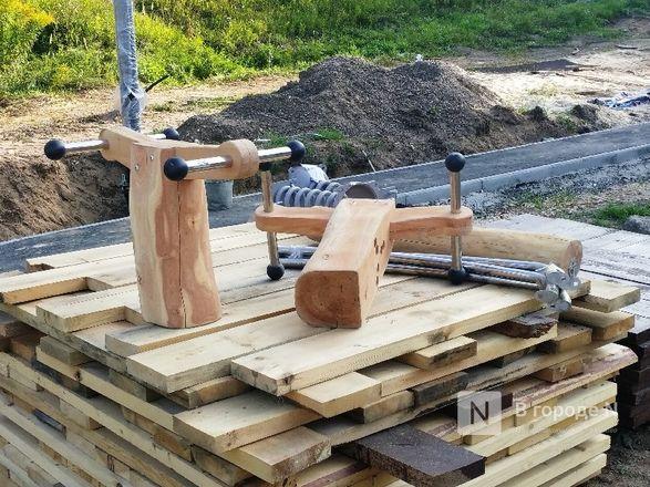 Благоустройство Лопатинского оврага планируется завершить в начале сентября - фото 15