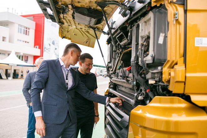 Немецкий лев в России: нижегородцам показали новые грузовики MAN - фото 13